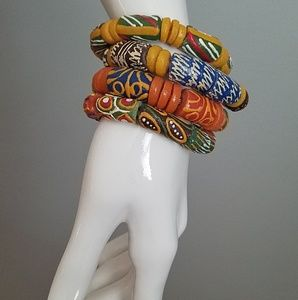 Vintage Handmade African Bracelets